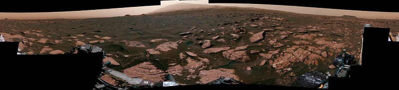 панорама дюн на Марсі