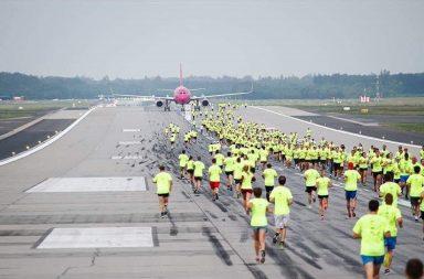На злітній смузі аеропорту Харків пройде забіг